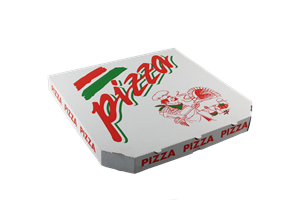 Krabice na pizzu 40x40x4 cm kuchař ideal pack®