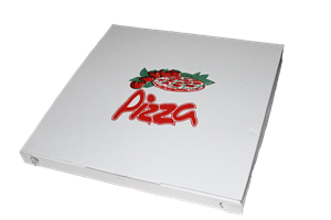 Krabice na pizzu 40x60x4 cm rajče ideal pack®