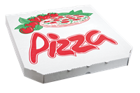 Pizza krabice 32 cm rajče ideal pack®
