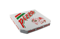 Pizza krabice 32 cm kuchař ideal pack®