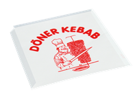 Sáček pap. na kebab 16x16 cm ideal pack®
