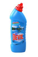 Čistič WC 750 ml-Dr.Devil